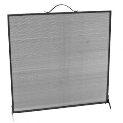 Manor Fire Screen Black 62cm