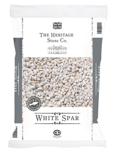 Heritage Stone White Spar decorative gravel