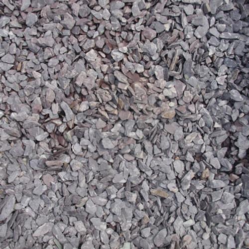 Heritage Stone Plum Slate garden gravel