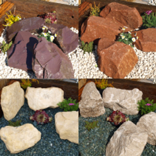 Classic Combination Rockery garden gravel