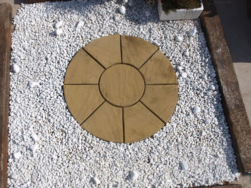 Oxford Antique Buff Circle Small 1.5m LOCAL DELIVERY ONLY