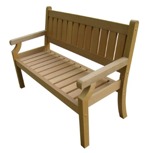 Brandan Polyteak 2 Seat Bench  -  LOCAL DELIVERY ONLY