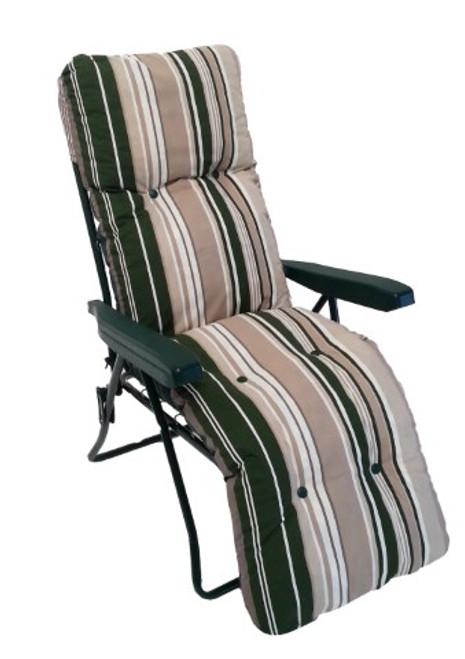 Culcita Green Stripe 5Pos Relaxer Frame & Cushion