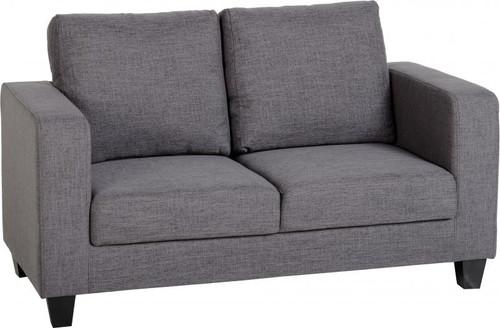 Tempo 2 Seat Sofa Grey