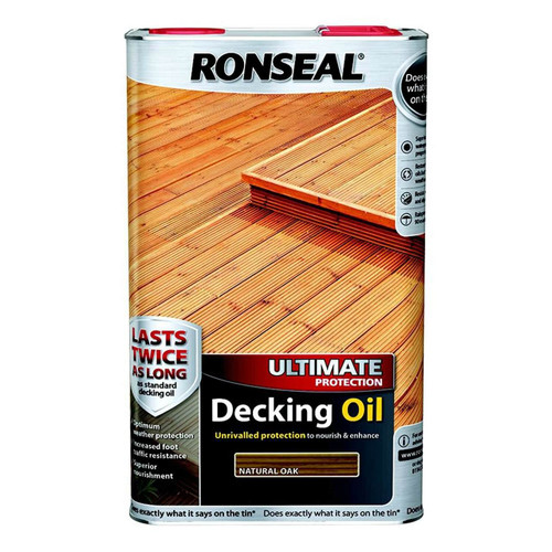 Ronseal Ultimate Protection Decking Oil natural oak