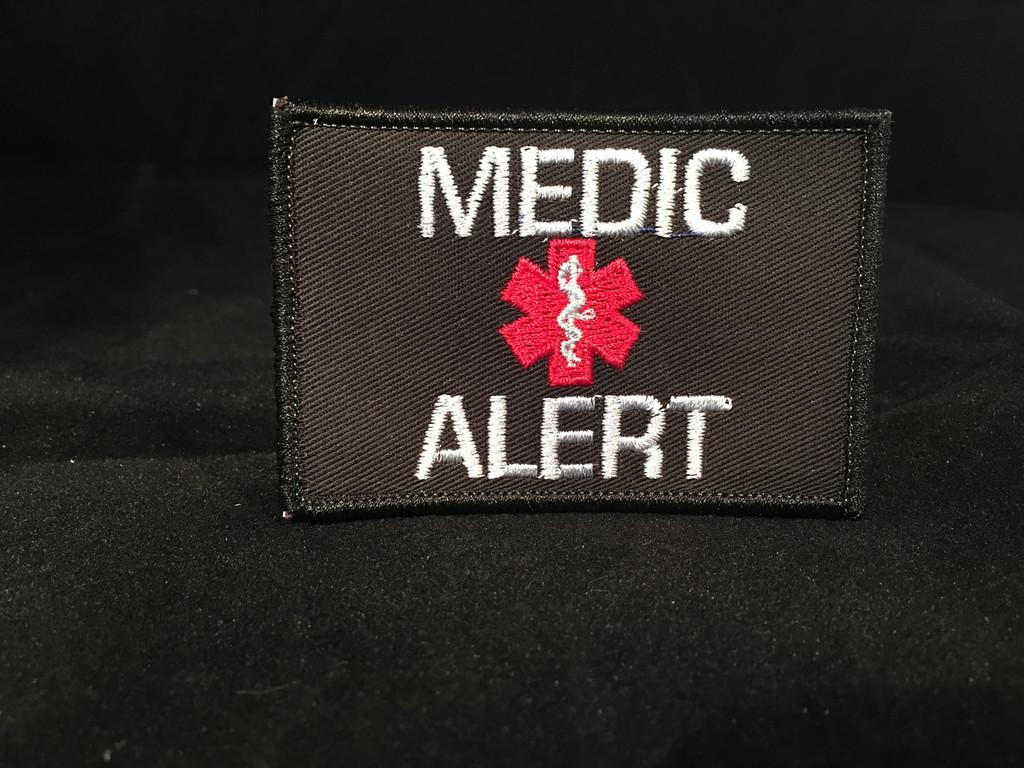 Custom Medic Alert Velcro Patch