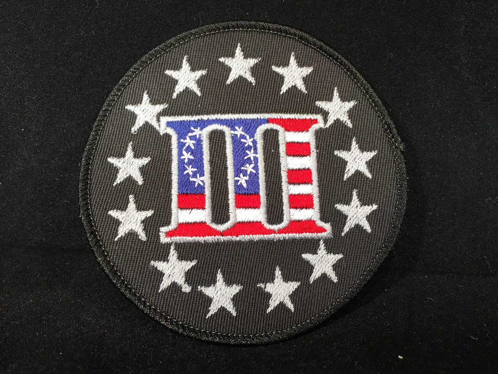 USA 3% Flag Morale Patch