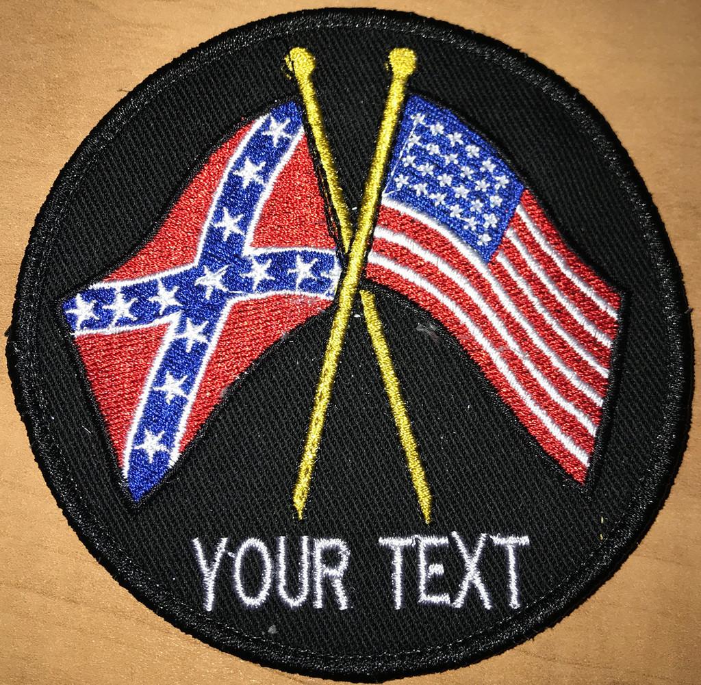 Custom Team Rebel American Patch