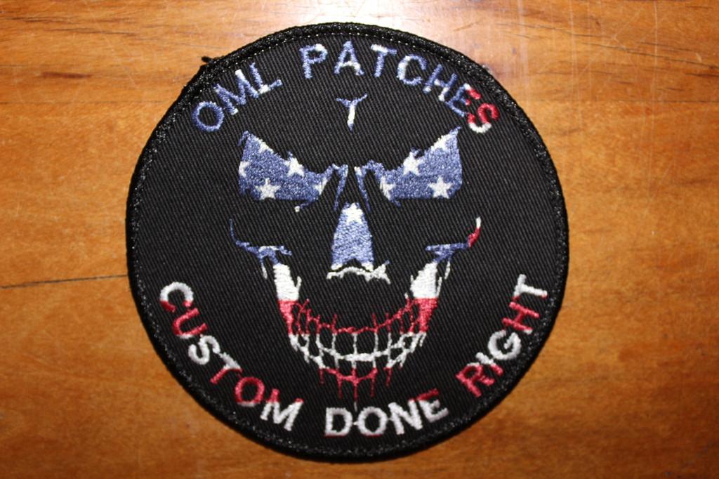 Hybrid Team Patch Shadow Skull