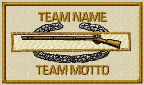 Custom team infantry patch