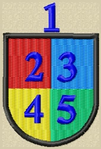 Custom Basic 6 Baret Flash Military Patch