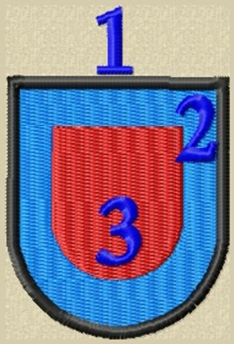 Custom Baret Flash Basic 7 Military Patch