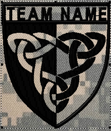 Team patches celtic crest