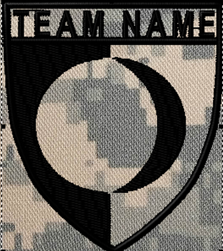 Team patches moon crest