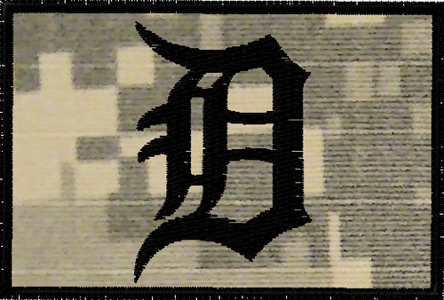 Detroit tigers tactical sports patch in ACU