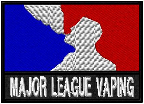 Major league vaping cloud chaser patch
