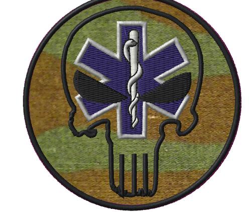 Punisher Medic on woodland