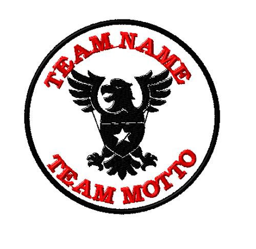 freedom eagle team template