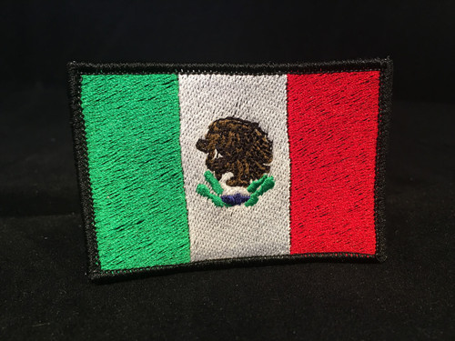 Mexican Flag Custom Patch