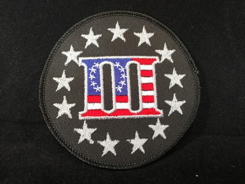 USA 3% Flag Morale Patch
