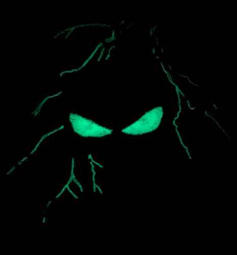 Team Patch Punisher Glow in the dark