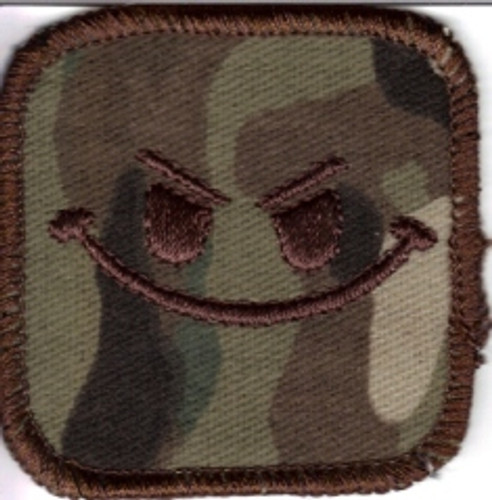 Large Evil Smiley Patch