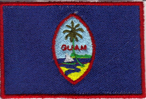 Guam Flag Patch Full Color