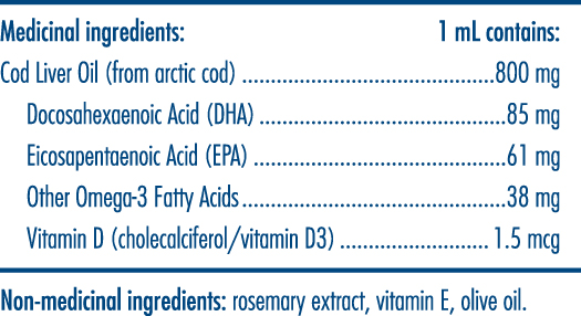 Facts Nordic Naturals Baby's DHA - LOTUSmar HK