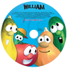 Veggie Tales Silly Songs Personalized Kids Music CD