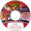 Amazing Dad Personalized DVD Personalized Label