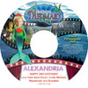The Little Mermaid Personalized DVD for Kids Personalized Label