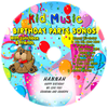 Birthday Party Songs with Lunchbox & Friends Personalized Kids Music CD