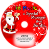 Santa Message Personalized Christmas Music CD