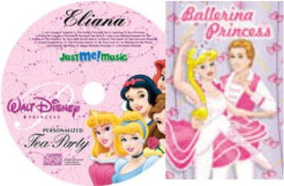 Personalized storybooks canada disney princess personalized cd and ballerina princess personalized book gift set negle Gallery
