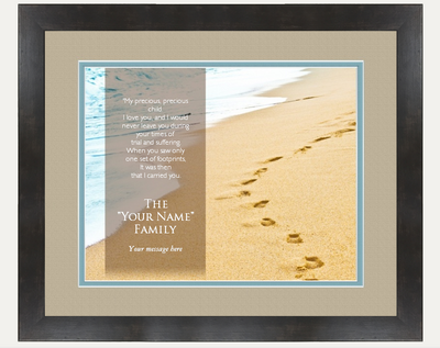 Personalized Sand Names Wall Art - Personalized Story Books Canada