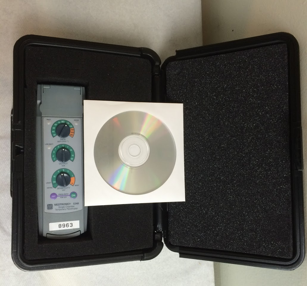 Used Medtronic 5348 External Pacemaker
