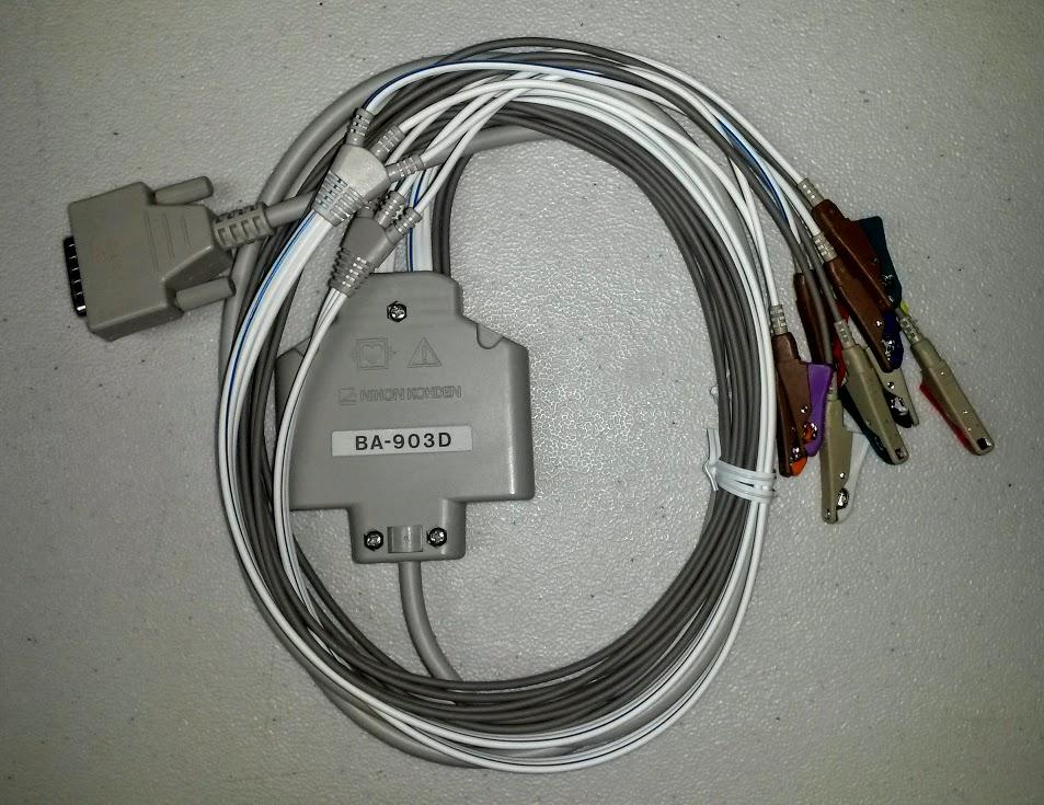 Nihon Kohden BA-903D - 10 leads EKG Cable ( New & Original)