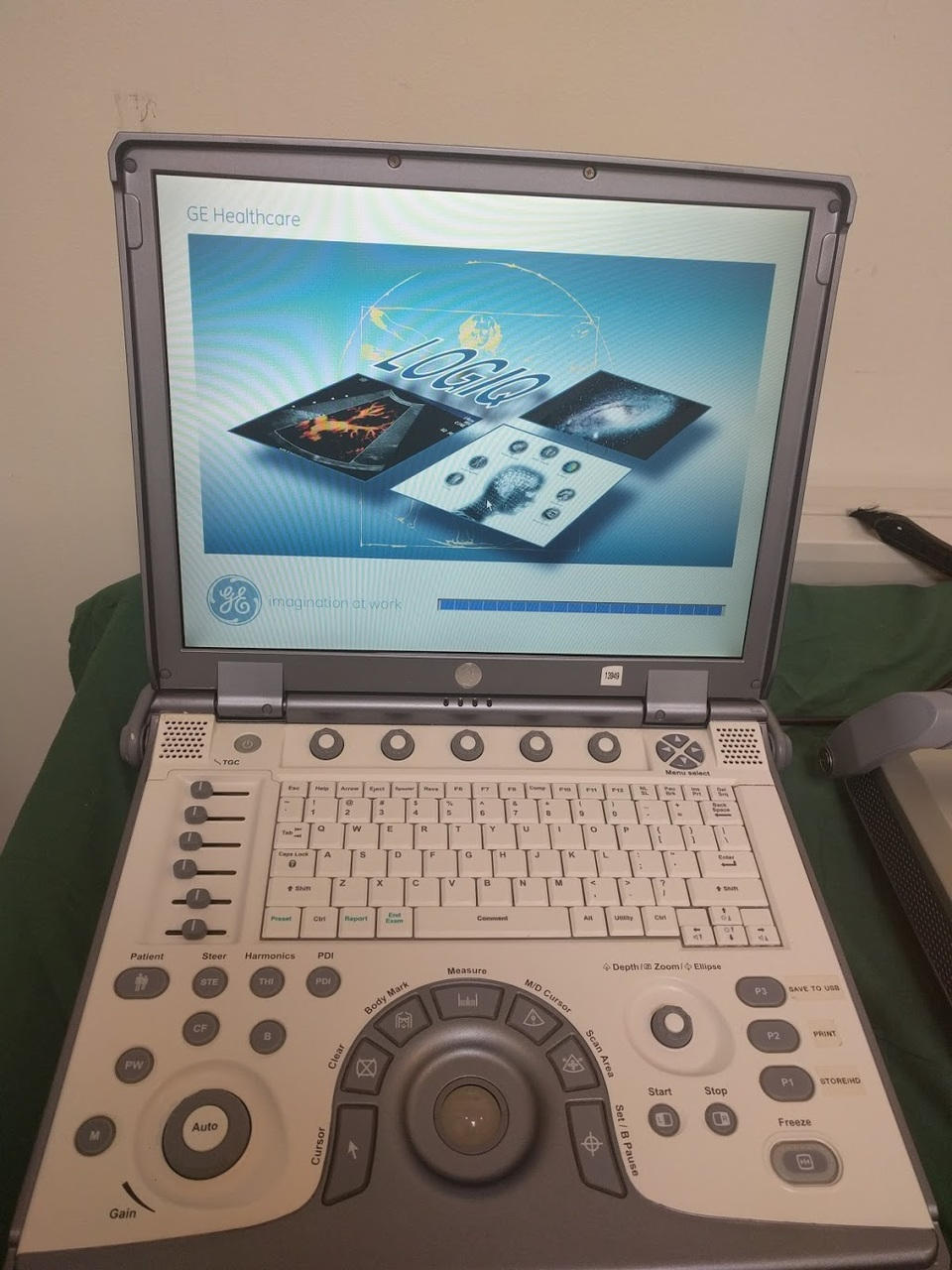 Refurbished GE Logiq E Portable Ultrasound