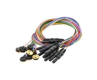 EEG Gold Cup Electrodes - Package of 10