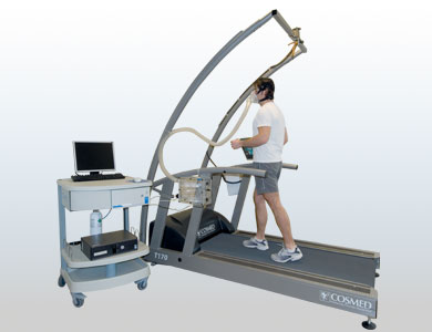 Quark CPET Test On Treadmill With Mixing Chamber