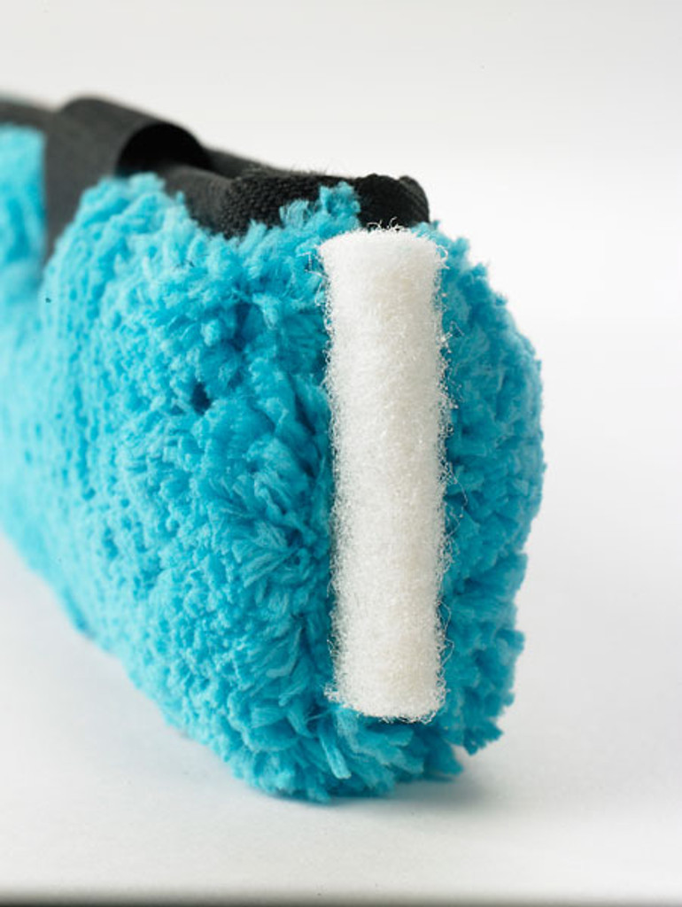 Moerman Premium Blue Microfiber Sleeve End Scrubber