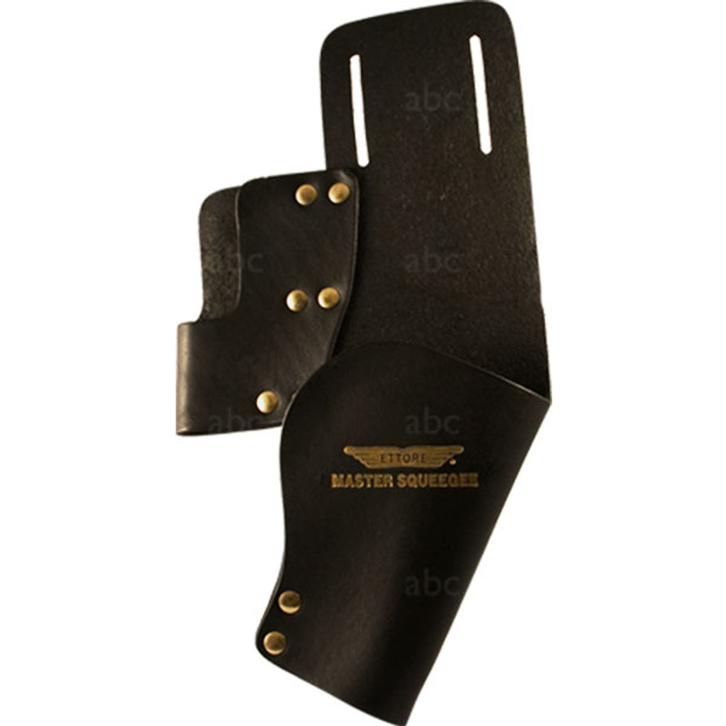 2046 Ettore Dual Black Leather Holster