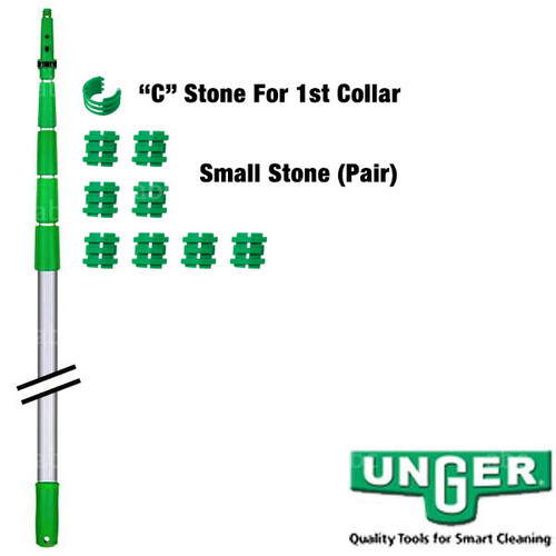 12' Unger Add-An-Arm 2 Part Pole