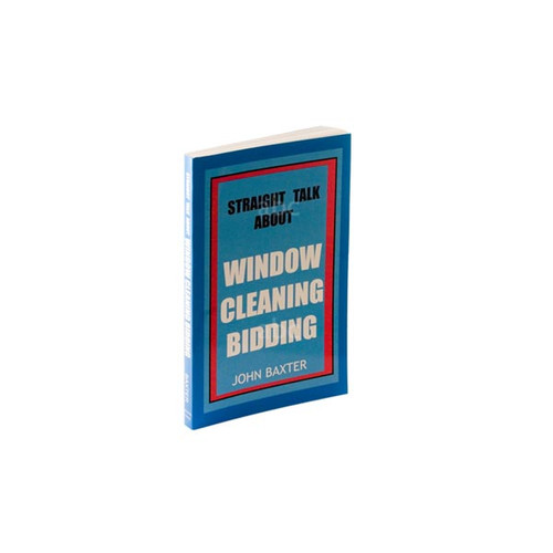 """Book """"Straight Talk About Window Cleaning Bidding"""""""