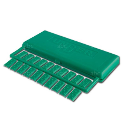 Squeegee Parts - CLIPS - Unger - Green Plastic - Package of 40