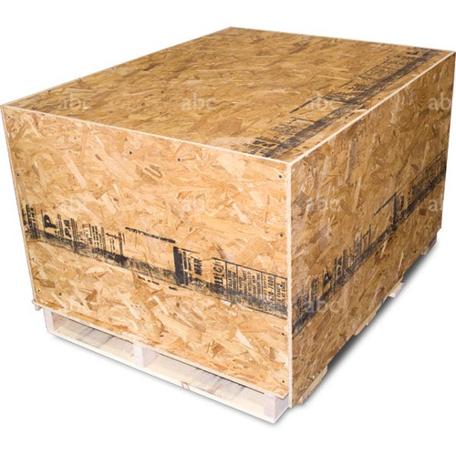 Shipping Crate of The 5 Stage Electric Enterprise 3000 WaterFed ® Pure Water System from Abc