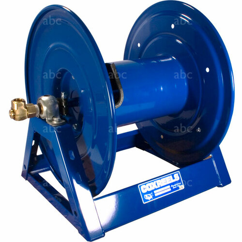 WaterFed ® - Blue Cox Hose Reel with Hand Crank & Base