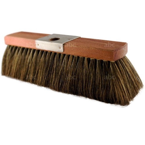 """Brush -- Hoghair - 100% Pure China Boar Bristle - Style M - Metal Plate - 16"""" with 4"""" Trim"""