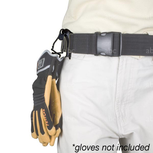 Gloves with Belt