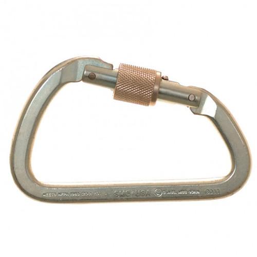 """SMC SM100001N .94"""" Gate Opening Screw Lock Gate Lite Steel Carabiner"""